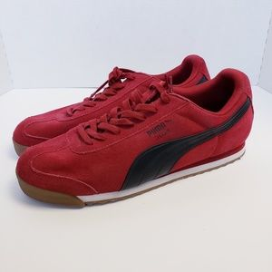 Puma Roma Men's Suede Low Sneakers Size Size 13